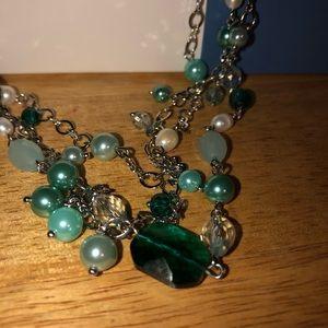 Lia Sophia necklace never worn. In box.